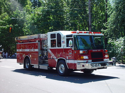 City of  Sea-Tac (Washington) Fire Truck