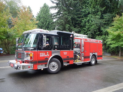 Snohomish County Fire District 1 engine.