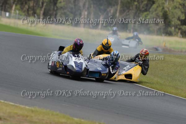 Race 19. Post Classic Sidecars 0 - 1300cc, Forgotten Era Sidecars 0 -1300cc, Modern Sidecars Formula 1 ~ 0 - 1300cc, Modern sidecars Formula 2 ~ 0 - 500cc.
