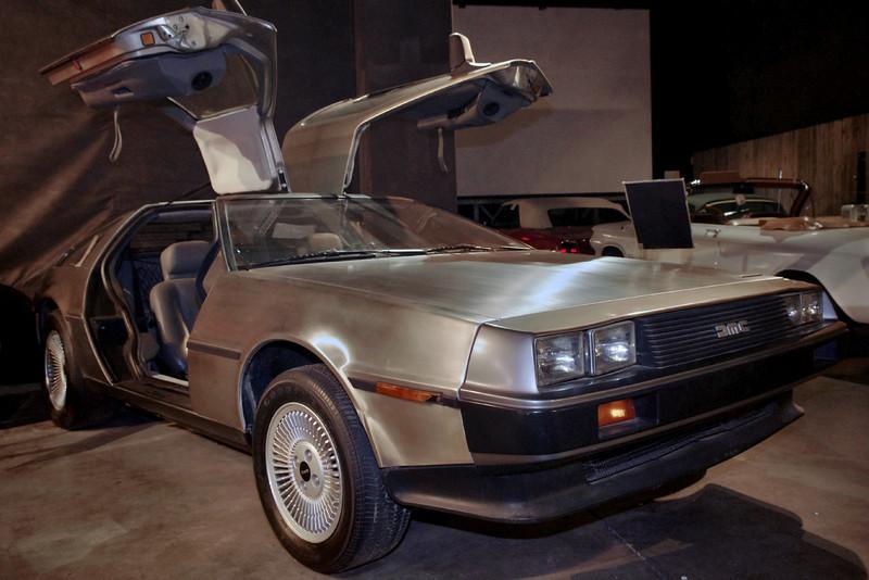 Back to the future! DeLorien, Auto World Museum, Fulton, Missouri.