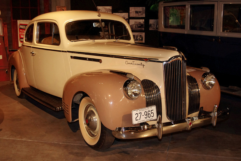 1941 Packard Coupe. Auto World Museum, Fulton, Missouri.