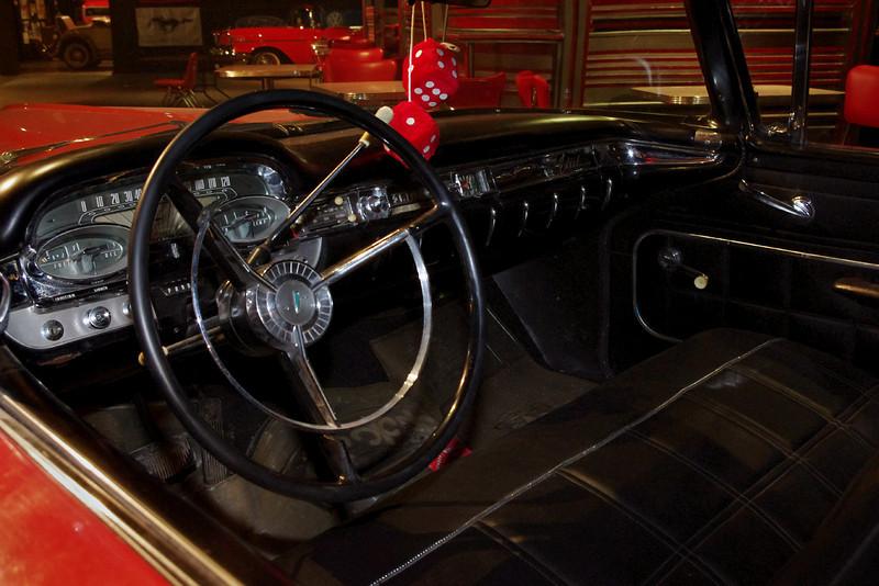 Edsel dash. Auto World Museum, Fulton, Missouri.