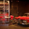 Edsel and diner. Auto World Museum, Fulton, Missouri.