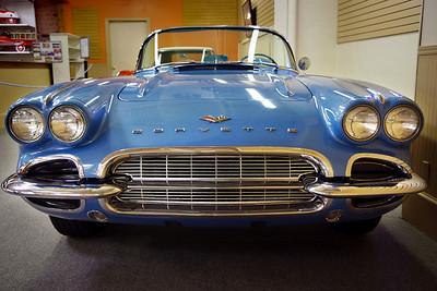 1961 Chevrolet Corvette Roadster. Branson Auto Museum