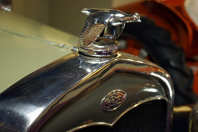 Detail of 1931 Ford Model A Radiator Cap. Branson Auto Museum