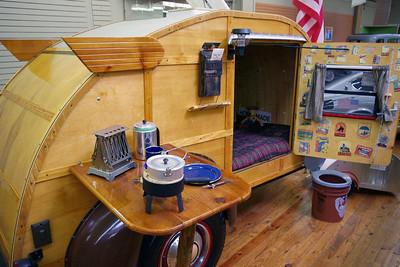 Tear drop camper, Branson Auto Museum
