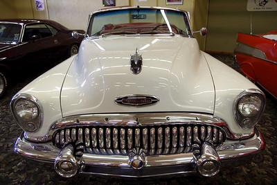 1953 Buick Super Convertable. Branson Auto Museum