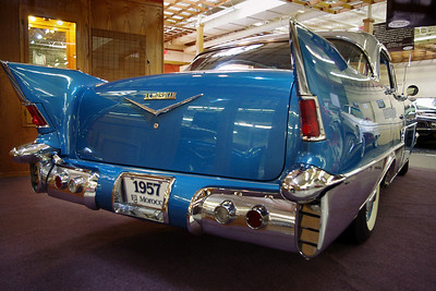 El Moroccos were built in 56 and 57 and they are the rarest Chevrolets ever built. Ten were built in 1956, and 16 more in 1957...  Branson Auto Museum