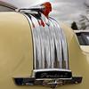 Hood ornament; 1950 Pontiac Chieftain. 2016 Collector Car Auction, Branson, Missouri.