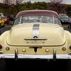 1950 Pontiac Chieftain, rear; 2016 Collector Car Auction, Branson, Missouri.
