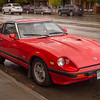Datsun 280 ZX seen in Steamboat Springs, Colorado. This one has the turbo, first released in 1981 and in production through 1983. I believe this one is a Series 2, which would indicate it's an '82 or '83 model..