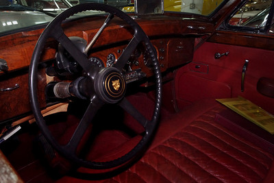 Wood dashboard, Jaguar, KC Classic, Lenexa, Kansas.