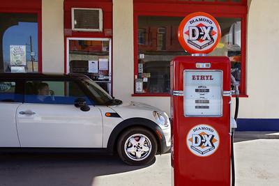 DX Station, Afton, Oklahoma. Does the MINI like Ethyl?