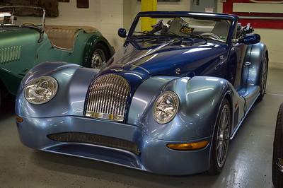 2005 Morgan Aero8, Route 66 Car Museum, Springfield, Missouri. BMW chassis, aluminum body, 0-60 in 5 seconds. Only about 200 are made each year.