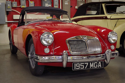 1957 MGA. Private collection in Springfield, Missouri, now the Route 66 Car Museum.