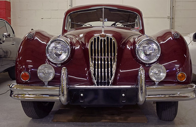 Jaguar - 1957 XK 140. Private collection, Springfield, Missouri, now the Route 66 Car Museum.
