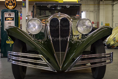 1934 Ford Brewster. The coachbuilding company, Brewster, bought the chassis from Ford.  Approximately 60 were sold at Rolls-Royce showrooms.
