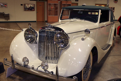 1948 Jaguar Mark IV; Tupelo Automobile Museum, Mississippi.