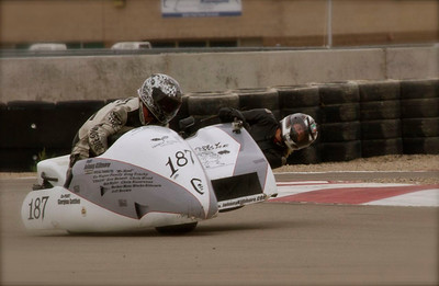 Turn 1 at Miller Motorsports Park's East Course has a slow, off camber exit. Photo: Jean Canestrini