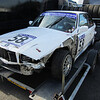 Trialler Chris Maries broke his BMW in qualifying