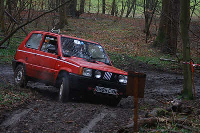 Kevin Alexander keeping up the family Fiat tradition on Falcons Folly