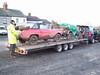 Charles Knifton and Stuart Bartlett loaded up for Derby