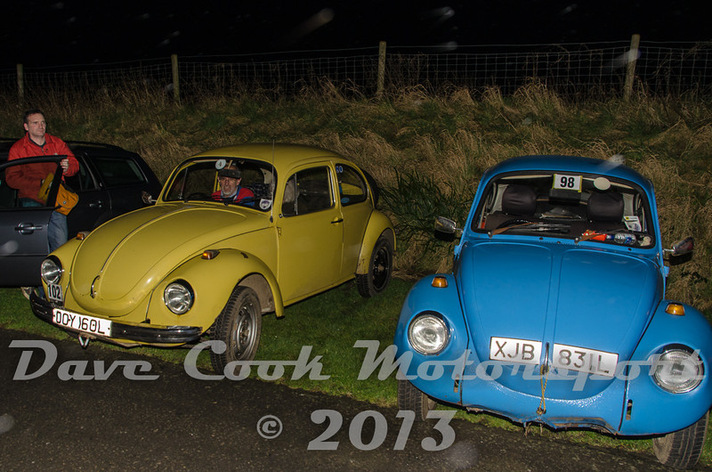 Start,  Michael Leete and Neal Vile, Class 4 VW Beetles
