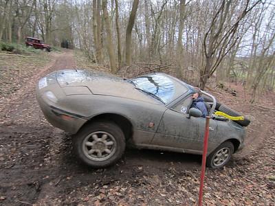 Nigel Jones - Mazda MX5 - Binghams Warren