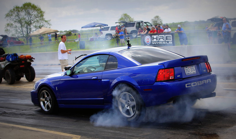 Ford Mustang Cobra Burnout @ TX2K12 Photos Taken By: Andre Leighton / ASLPHOTOGRAPHY.net Photography Service Available In Many Cities: Dallas, Houston, San Antonio, Austin & From East to West Coast