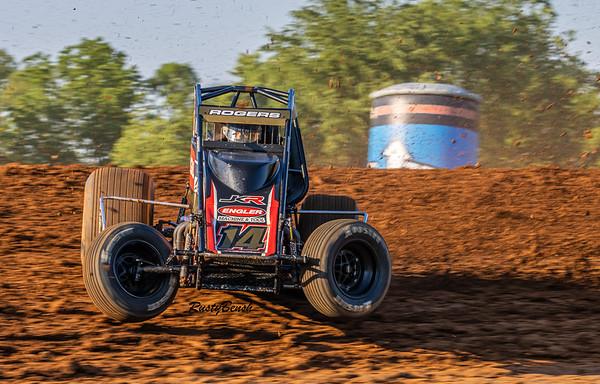 4JUNE21 USAC Midget Week Bloomington Speedway-10