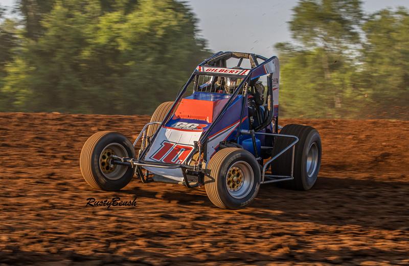 4JUNE21 USAC Midget Week Bloomington Speedway-4