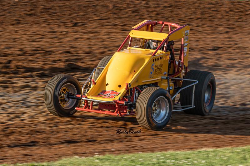 4JUNE21 USAC Midget Week Bloomington Speedway-2