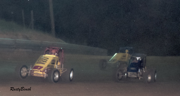 Mr. Barr in the yellow 97 car.