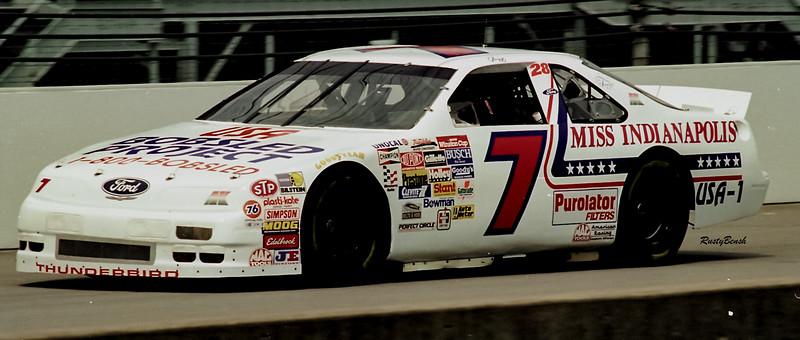 1993 NASCAR TESTING IMS-137