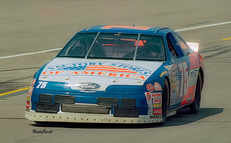 1993 NASCAR TESTING IMS-23