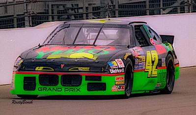 1993 NASCAR TESTING IMS-13
