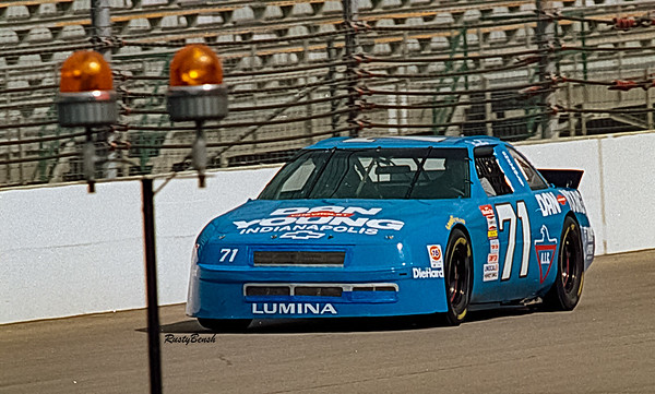 1993 NASCAR TESTING IMS-8