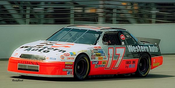 1993 NASCAR TESTING IMS-22
