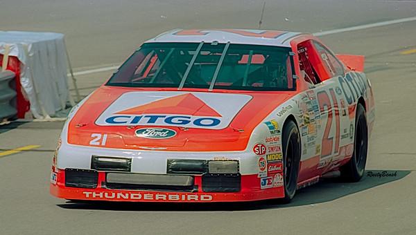 1993 NASCAR TESTING IMS-28