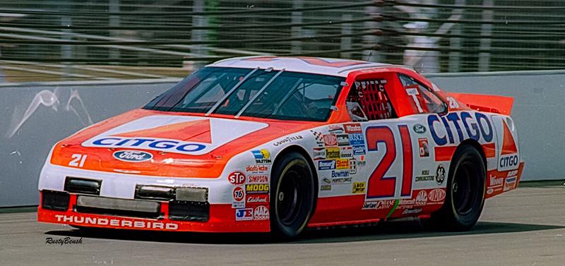 1993 NASCAR TESTING IMS-19