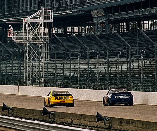 1993 NASCAR TESTING IMS-10