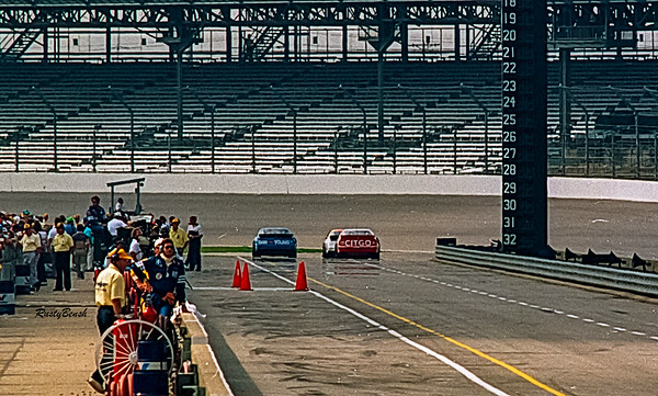 1993 NASCAR TESTING IMS-7
