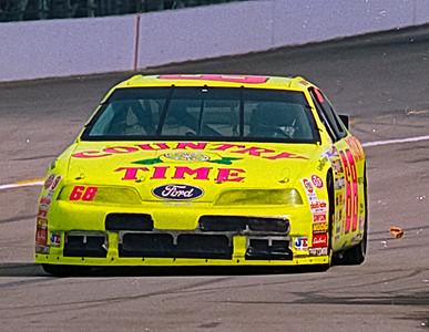 1993 NASCAR TESTING IMS-5
