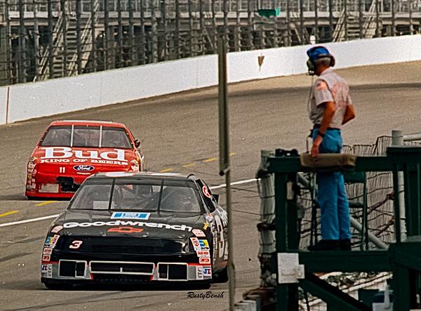 1993 NASCAR TESTING IMS-6