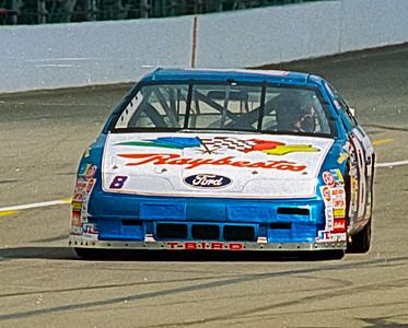 1993 NASCAR TESTING IMS-4