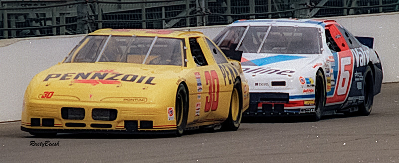 1993 NASCAR TESTING IMS-18