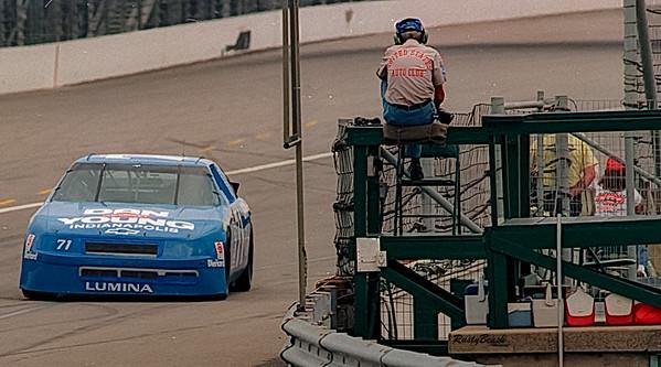 1993 NASCAR TESTING IMS-27
