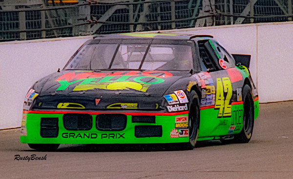 1993 NASCAR TESTING IMS-12