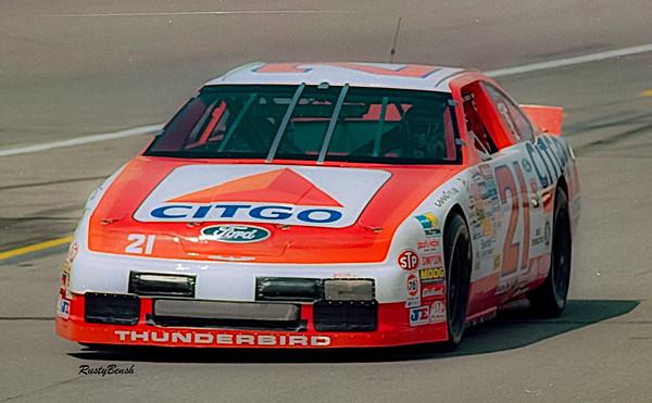 1993 NASCAR TESTING IMS-24