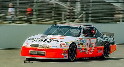 1993 NASCAR TESTING IMS-21
